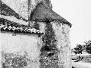 Crkva sv. Agate u Novigradu snimljena 1972. godine. novigrad (fn. 11847 a) Iz arhive Arheološkog muzeja Istre