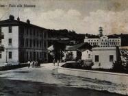 Most vodopada, snimljeno početkom 20. stoljeća. pazin. Izvor: grad-pazin.net