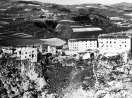 Panorama Pazina krajem 50-ih godina, Pazin. (fn. 4326 i 4327) Iz arhive Arheološkog muzeja Istre