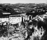Pogled na grad krajem 50-ih godina, Pazin. (fn. 4327) Iz arhive Arheološkog muzeja Istre