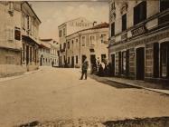 Ulica 25rujna, Pazin, (1908.). Izvor: grad-pazin.net