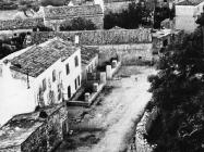 Pogled na naselje sa zvonika 60-ih godina, Peroj. (fn. 5547) Iz arhive Arheološkog muzeja Istre
