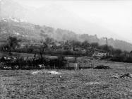 Pogled na nalazište antičke arhitekture u Luci Plomin sredinom 80-ih godine, Plomin. (fn. 21046) Iz arhive Arheološkog muzeja Istre