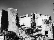 Razrušene zidine starog grada 1969. godine, Plomin. (bn. 8328) Iz arhive Arheološkog muzeja Istre