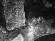 Žrtvenik božici Iki pronađen u Plominu 1953. godine, Plomin. (fn. 2316) Iz arhive Arheološkog muzeja Istre
