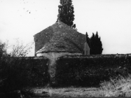 Grobljanska crkva Svetog Flora 80-ih godina, Pomer. (fn. 18294) Iz arhive Arheološkog muzeja Istre