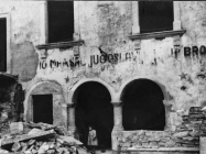 Lođa u Raklju krajem 40-ih godina, Rakalj. (fn. 878) Iz arhive Arheološkog muzeja Istre