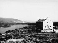 Pogled na crkvu sv. Agneze 1972. godine, Rakalj. (fn. 11922) Iz arhive Arheološkog muzeja Istre