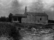 Crkva sv. Germana u Režancima 1952. godine, Savičenta. (fn. 1608) Iz arhive Arheološkog muzeja Istre