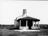 Crkva sv. Germana u Režancima 1968. godine, Savičenta. (bn. 8486) Iz arhive Arheološkog muzeja Istre