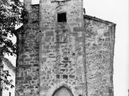 Gotička crkva Svetog Antuna Opata 80-ih godina, Roč. (fn. 18266) Iz arhive Arheološkog muzeja Istre