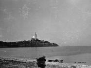 Pogled na Rovinj početkom 50-ih godina, Rovinj. (fn. 1734) Iz arhive Arheološkog muzeja Istre