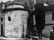 Romanička crkva sv. Trojstva početkom 50-ih godina, Rovinj. (fn. 1217) Iz arhive Arheološkog muzeja Istre