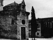 Romanička crkva sv. Trojstva početkom 50-ih godina, Rovinj. (fn. 1219) Iz arhive Arheološkog muzeja Istre