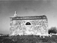 Crkva sv. Martina kod naselja Bubani 1991. godine, Rovinjsko selo. (fn 24976) Iz arhive Arheološkog muzeja Istre