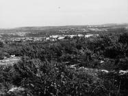 Pogled na selo Žuntići kod Rovinjsko sela u drugoj polovici 50-ih godina, Rovinjsko selo. (fn. 4849) Iz arhive Arheološkog muzeja Istre