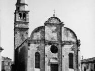 Crkva Uznesenja Blažene Djevice Marije 1969. godine, Savičenta. (bn. 8341) Iz arhive Arheološkog muzeja Istre