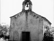 Crkva Svetog Lovre u Savudriji sredinom 60-ih, Savudrija. (bn. 7141) Iz arhive Arheološkog muzeja Istre