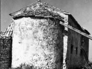 Crkva Svetog Petra u Savudriji sredinom 60-ih, Savudrija. (bn. 7138) Iz arhive Arheološkog muzeja Istre