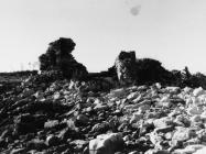 Kaštel Sipar, ostaci kule sa zapada 1996. godine, Umag. (fn 28925) Iz arhive Arheološkog muzeja Istre