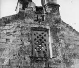 Prozorska rešetka, crkva Svetog Trojstva 1956. godine, Šišan. (fn. 4000) Iz arhive Arheološkog muzeja Istre