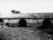 Tor za ovce 1969. godine, stancija Val de Naga, Štinjan. (bn. 8691, bp. 8755) Iz arhive Arheološkog muzeja Istre