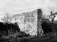Crkva sv. Augustina sredinom 60-ih godina, Sveti Lovreč. (fn. 7533) Iz arhive Arheološkog muzeja Istre