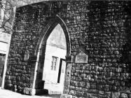 Gradska vrata i bedemi krajem 40-ih godina, Sveti Lovreč. (fn. 894) Iz arhive Arheološkog muzeja Istre