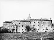 Pavlinski samostan u Svetom Petru u šumi 1973. godine, Sveti Petar u šumi. (fn. 12025a) Iz arhive Arheološkog muzeja Istre