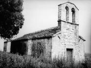 Crkva Svetog Petra 1975. godine, Trviž. (fn. 13999) Iz arhive Arheološkog muzeja Istre