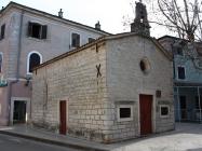 Crkva Svetog Roka, sagrađena 1514. godine. Umag. Autor: Aldo Šuran (2010.)