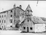 Crkva Svetog Antuna Pustinjaka iz 14. stoljeća 1978. godine, Višnjan. (fn. 16190) Iz arhive Arheološkog muzeja Istre