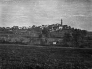 Pogled na Višnjan 1952. godine, Višnjan. (fn. 2304) Iz arhive Arheološkog muzeja Istre