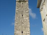 Zvonik crkve Svetog Jeronima, Vižinada. Autor: Aldo Šuran (2007.)