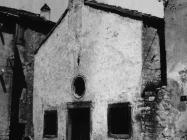Crkva sv. Jakova 1955. godine, Vodnjan. (fp. 3381) Iz arhive Arheološkog muzeja Istre