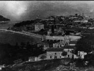 Pogled na baziliku sv. Marije u Vrsaru početkom 50-ih godina, Vrsar. (fn. 1123) Iz arhive Arheološkog muzeja Istre