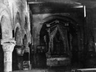 Središnji brod bazilike sv. Marije u Vrsaru početkom 50-ih godina, Vrsar. (fn. 1117) Iz arhive Arheološkog muzeja Istre