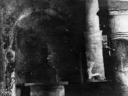 Lijeva apsida u bazilica sv. Marije u Vrsaru početkom 50-ih godina, Vrsar. (fn. 1116) Iz arhive Arheološkog muzeja Istre