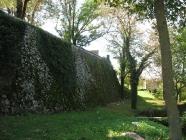 Zidine oko crkve Svetog Mihovila arkanđela. Žminj. Autor: Aldo Šuran (2007.)