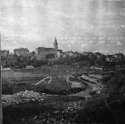 Pogled na Žminj, Žminj. (bn. 3682) Iz arhive Arheološkog muzeja Istre