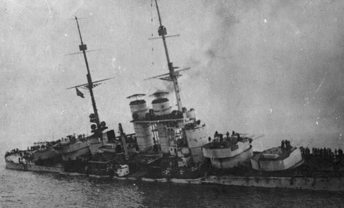 Potonuće austrougarskog bojnog broda Szent Istvan