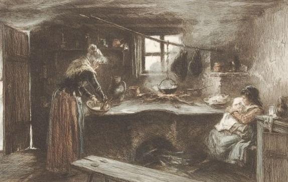 William Unger Aus Lovrana, oko 1880., prikaz života obitelji lovranskih pomoraca i ribara Zbornik Lovranšćine, knjiga 2, 2012., str. 107