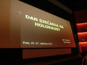 Dan sjećanja na holokaust 2017