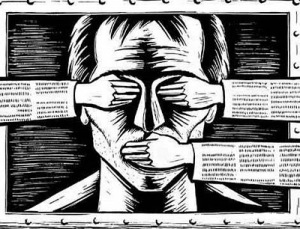 ilustracija totalitarizam