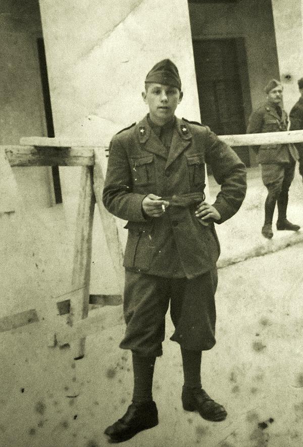3.u talijanskoj uniformi