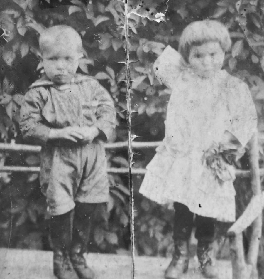 Anica Kovačić kao djevojčica (1)