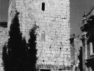 Zvonik u u Balama u prvoj polovici 80-ih godina, Bale. (fn. 19384) Iz arhive Arheološkog muzeja Istre