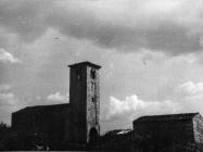 Crkva sv. Ilije 1951. godine, Bale. (bn. 1828( Iz arhive Arheološkog muzeja Istre