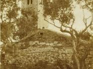 Crkva sv. Ilije početkom 20. stoljeća, Bale. (bn.  289) Iz arhive Arheološkog muzeja Istre