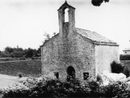 Crkva sv. Margarete u Prnjanima 1975. godine, Barban. (fn. 13746 a) Iz arhive Arheološkog muzeja Istre